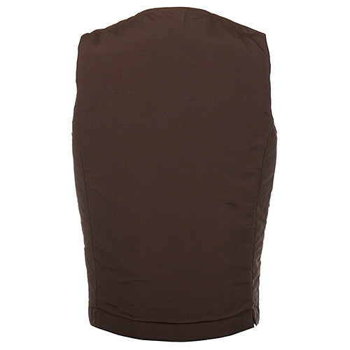 {ie PRIMALOFT UTILITY VEST / BROWN - 4