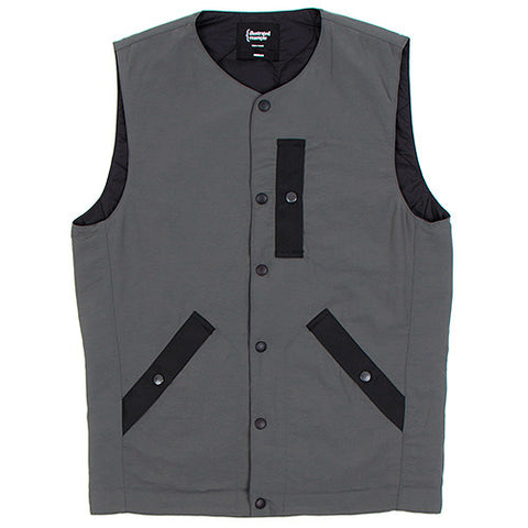 {ie PRIMALOFT UTILITY VEST / DARK GREY - 1