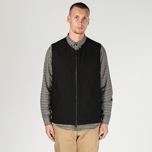 {ie INSULATED VEST / BLACK - 10