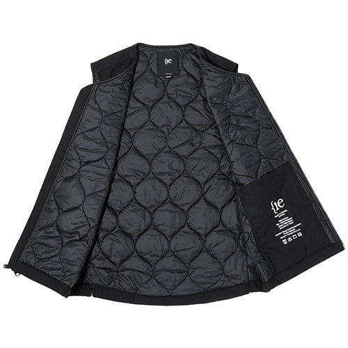 {ie INSULATED VEST / BLACK - 8