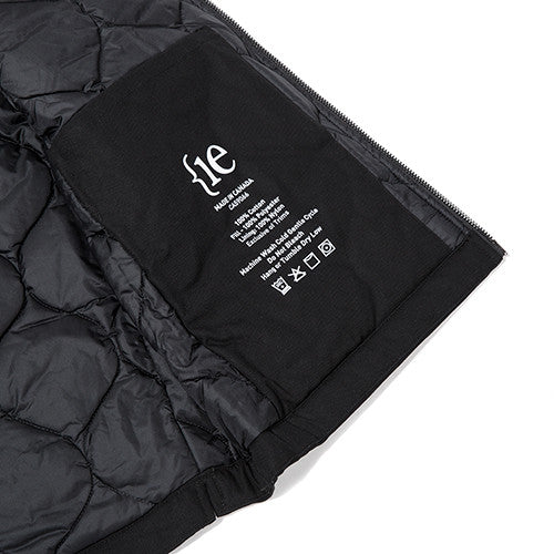 {ie INSULATED VEST / BLACK - 6