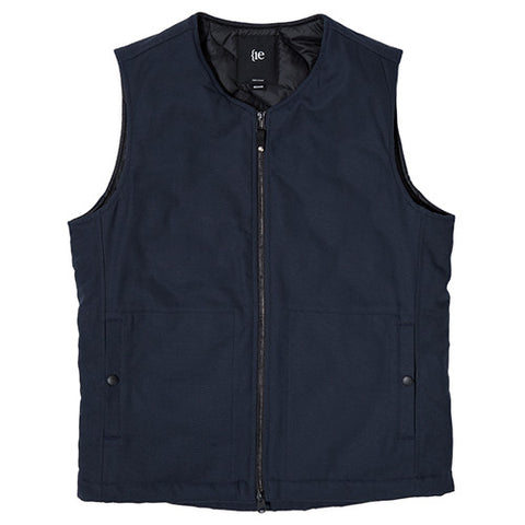 {ie INSULATED VEST / NAVY - 1