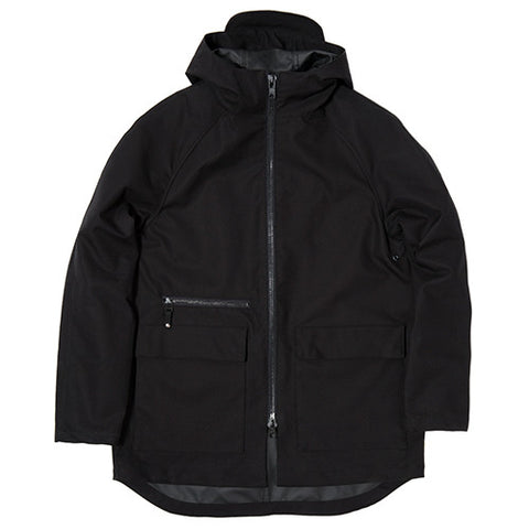 {ie BONDED MILITARY JACKET / BLACK - 1
