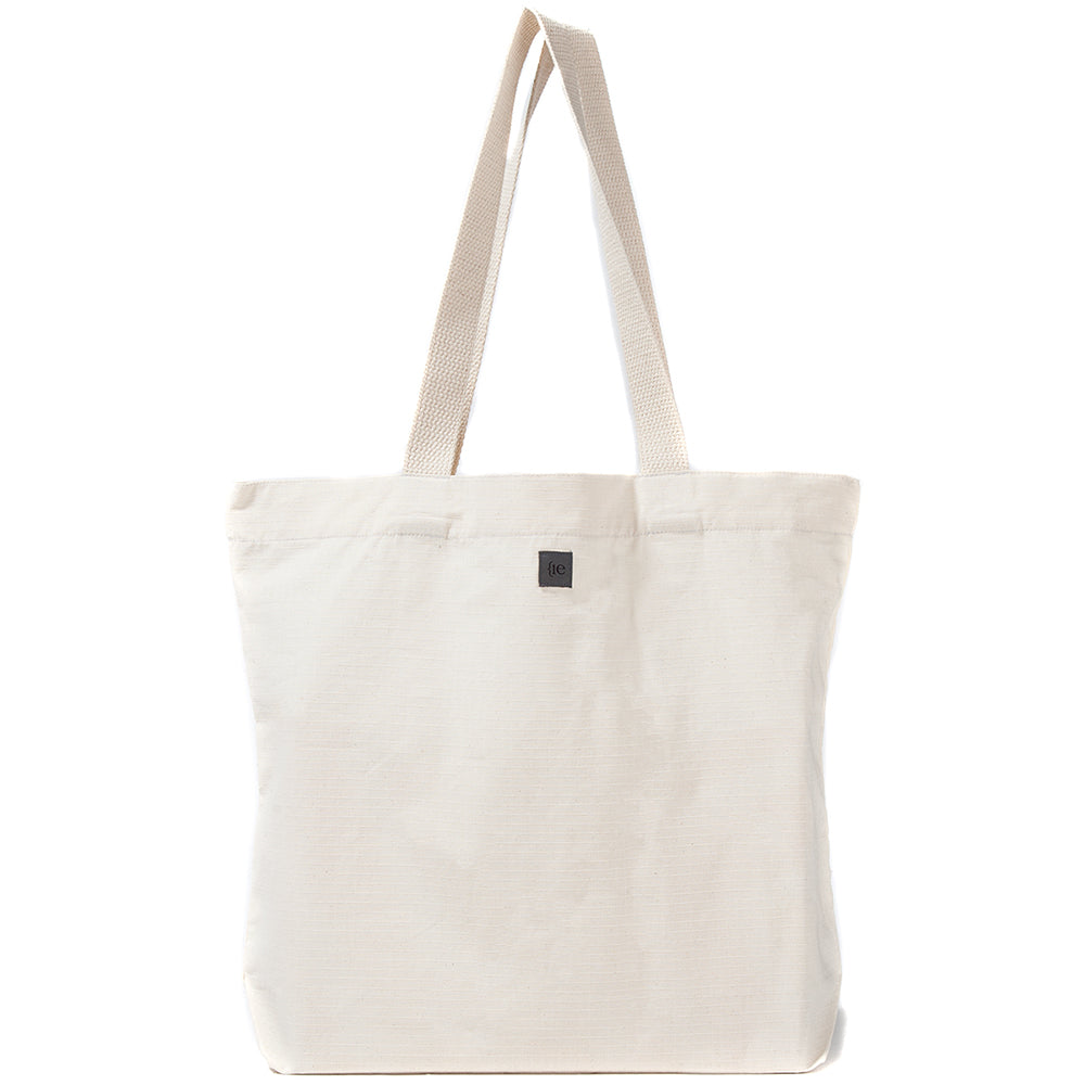 Style code 5019CWS18NAT. {ie TOTE BAG / NATURAL