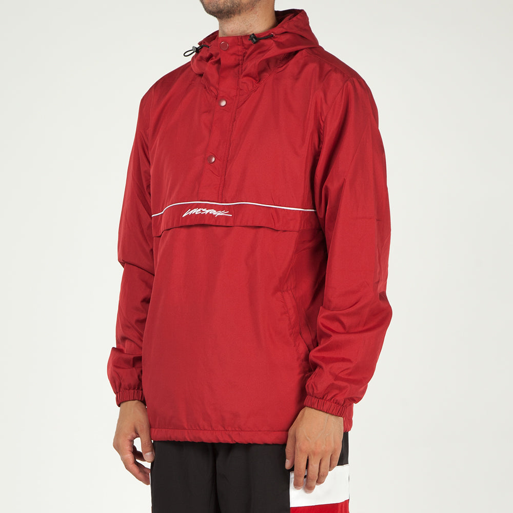 Style code 5026LSRED. Livestock Pullover Anorak / Red