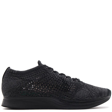 Nike flyknit racer all black on black