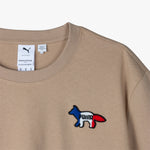 Puma x Maison Kitsuné Oversized T-shirt / Travertine