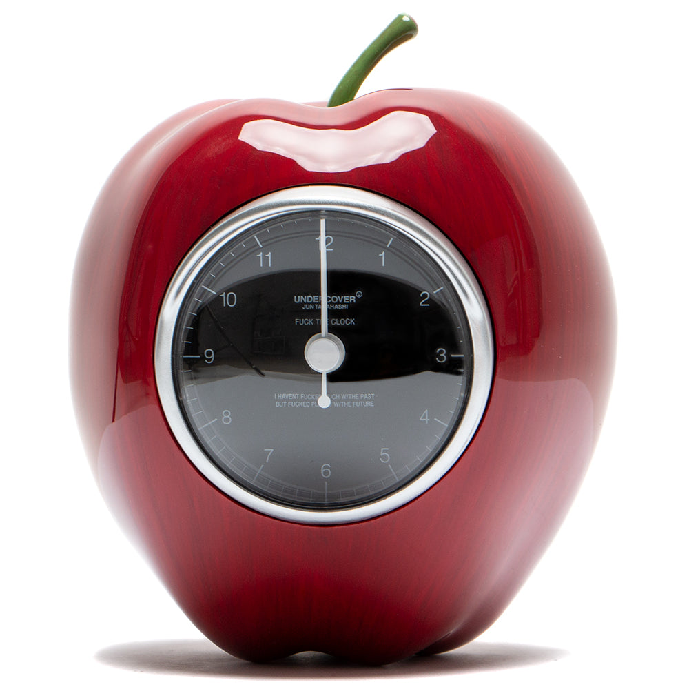 Style code 542300. Medicom Toy x Undercover Gilapple Clock - 160mm / Red