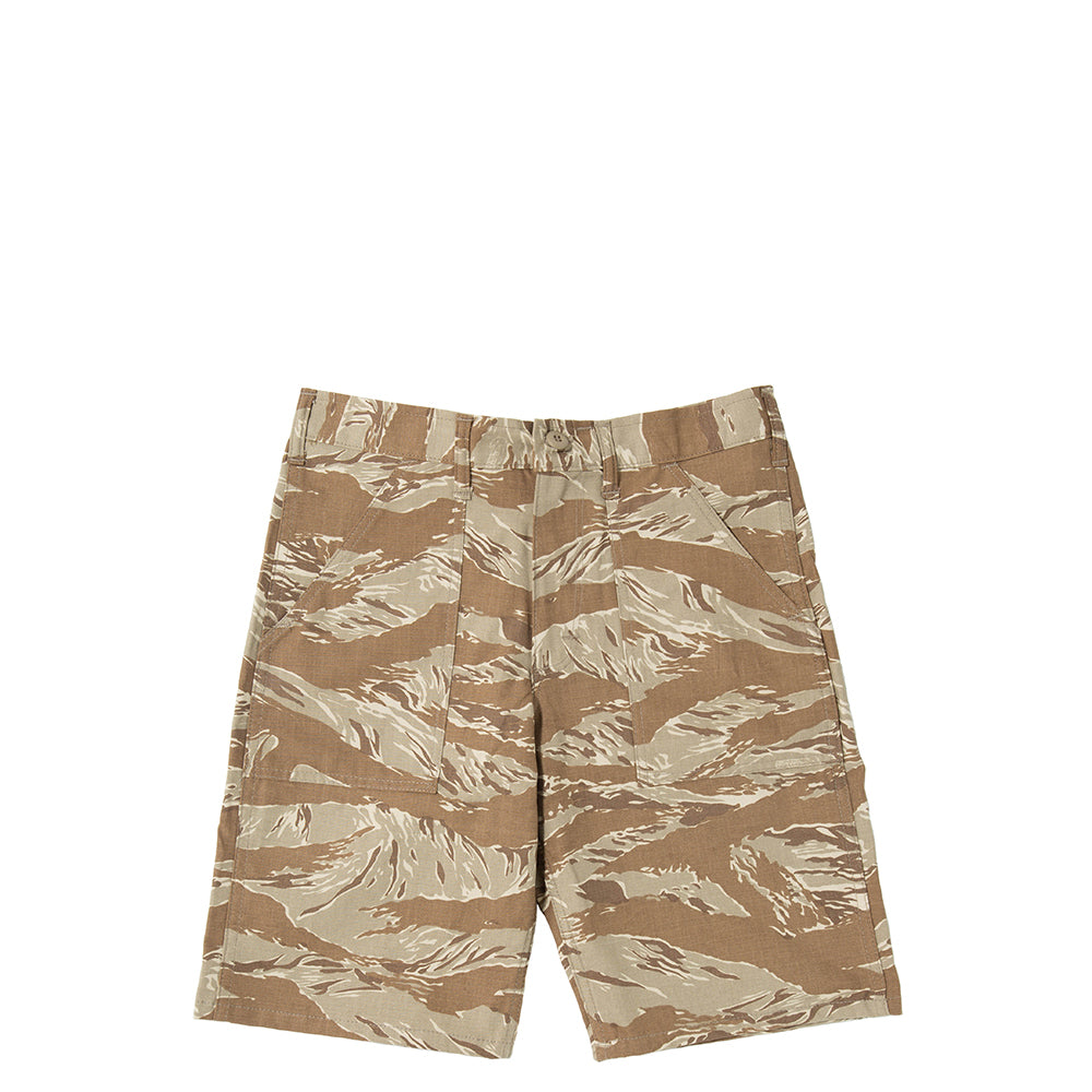 Stan Ray Ripstop Fatigue Short / Khaki Tiger Camo - Deadstock.ca