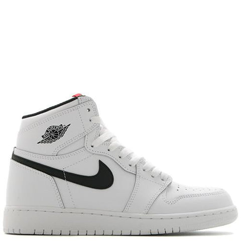 JORDAN 1 RETRO HIGH OG GS WHITE / BLACK - 1