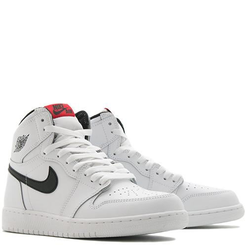 JORDAN 1 RETRO HIGH OG GS WHITE / BLACK - 3