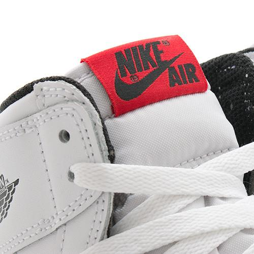 JORDAN 1 RETRO HIGH OG GS WHITE / BLACK - 4