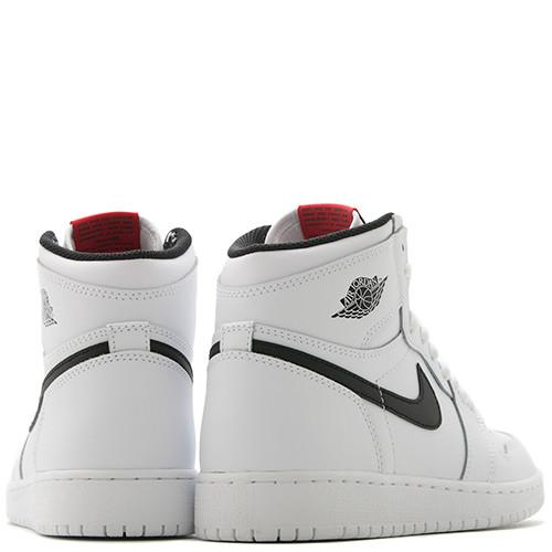 JORDAN 1 RETRO HIGH OG GS WHITE / BLACK - 6
