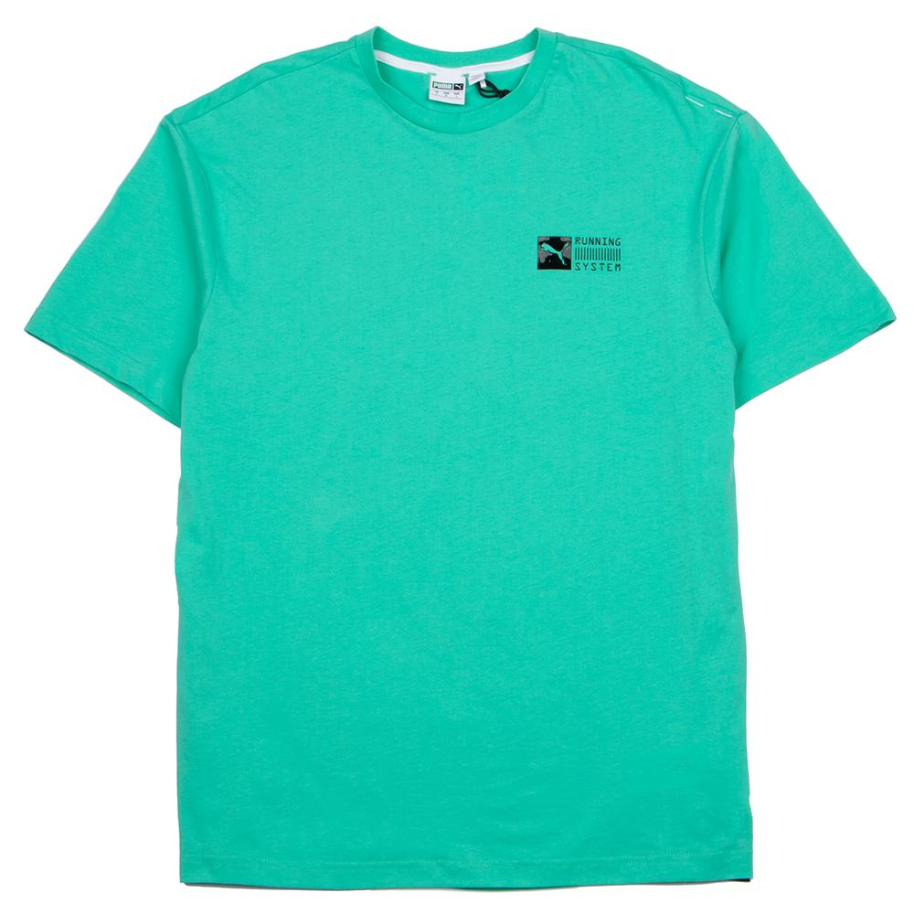 Style code 577481-80. PUMA RS-0 CAPSULE T-SHIRT / BISCAY GREEN