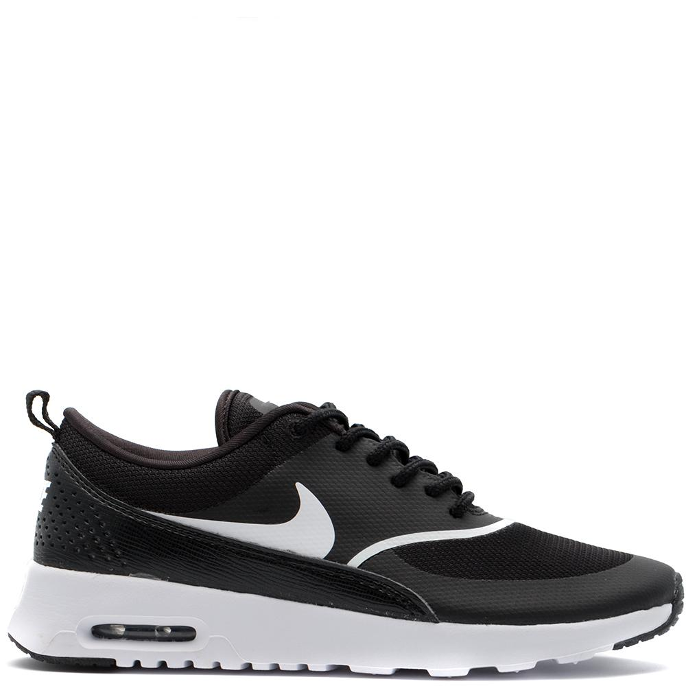 Style code 599409-028. NIKE WOMEN'S AIR MAX THEA BLACK / WHITE
