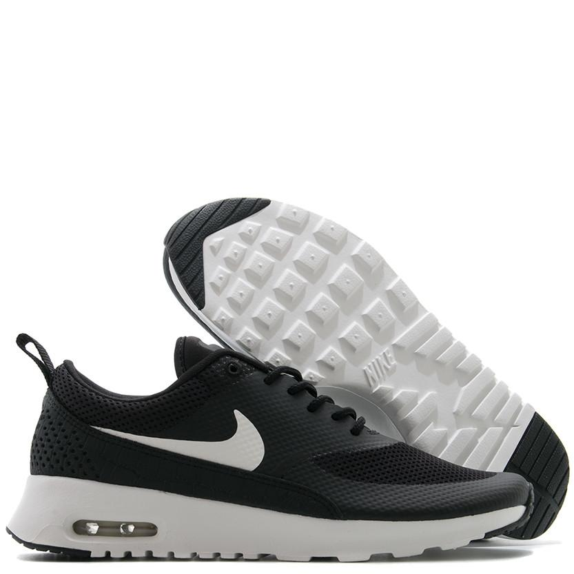 NIKE WOMEN'S AIR MAX THEA BLACK / WHITE . Style code 599409020