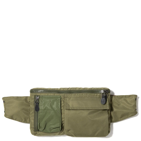 MAHARISHI MA TRAVEL WAIST BAG / MAHA OLIVE