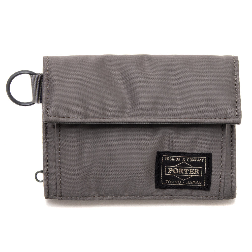 PORTER Tanker Wallet Medium / Silver Grey - Deadstock.ca