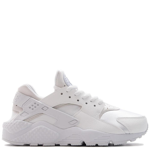NIKE WOMEN'S AIR HUARACHE RUN WHITE / WHITE - 1