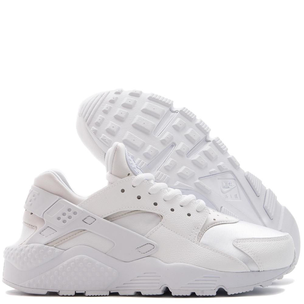 Style code  634835-108. Nike Women's Air Huarache Run. White / White
