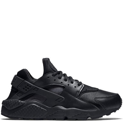 NIKE WOMEN'S AIR HUARACHE RUN BLACK / BLACK - 1