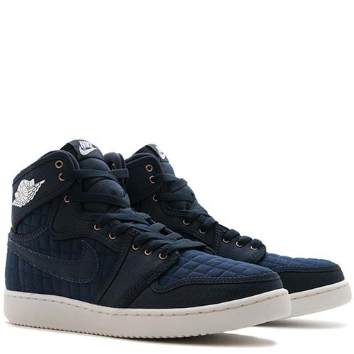 JORDAN 1 KO HIGH OG OBSIDIAN / WHITE - 3