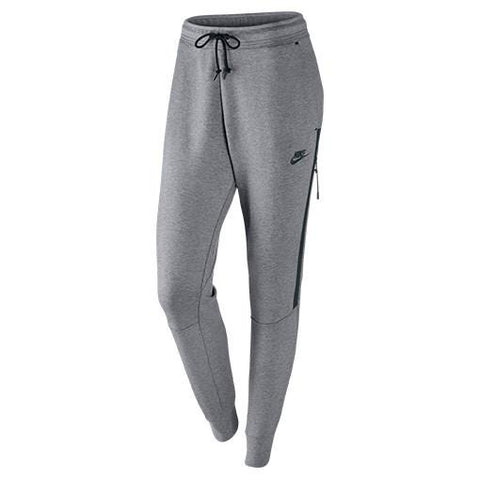 NIKE WOMEN'S TECH FLEECE PANT / CARBON HEATHER - 1