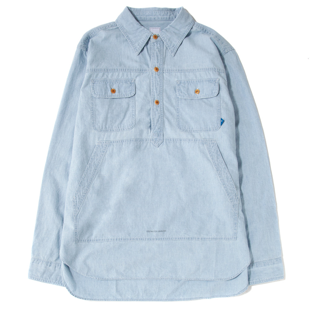 71101S19 Liberaiders Pullover Chambray Shirt / Hard Wash