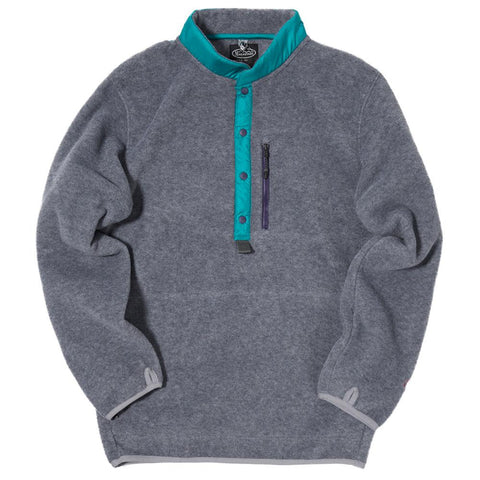 MANASTASH POLARTEC BASE CAMP PULLOVER / HEATHER GREY - 1