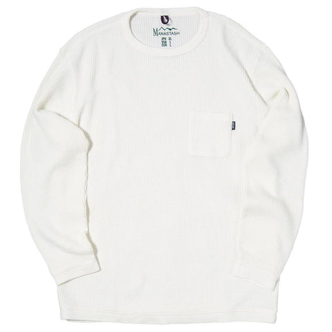 MANASTASH SNUG HEMP WAFFLE THERMAL / WHITE - 1