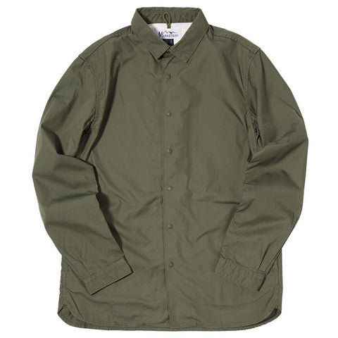 MANASTASH OD SHIRT JACKET / OLIVE - 1