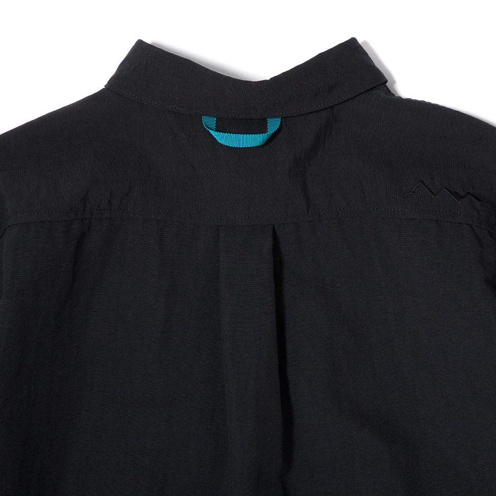 MANASTASH RIVER WATER RESISTANT NYLON T-SHIRT II / BLACK
