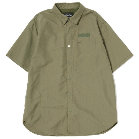 MANASTASH RIVER WATER RESISTANT NYLON T-SHIRT II / SAGE