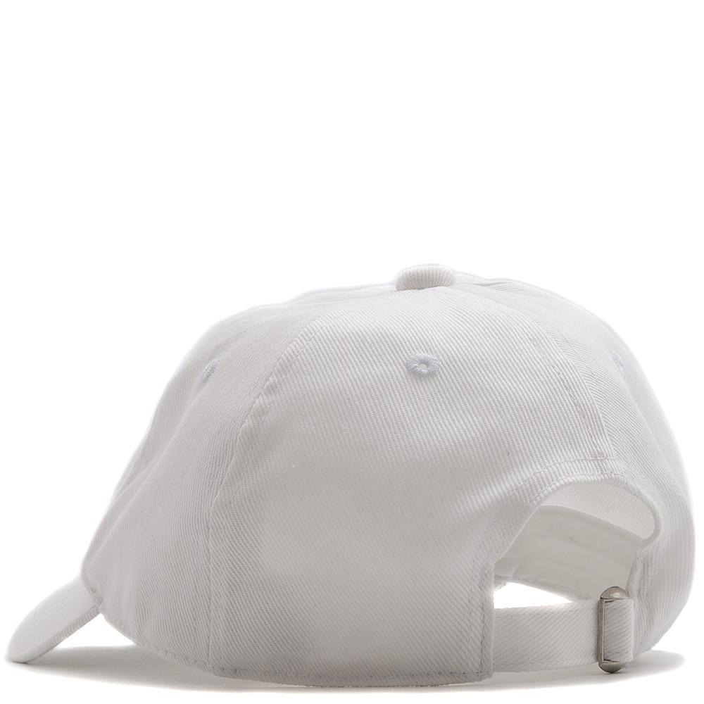 MANASTASH UNCLE'S GARMENT DYED HEMP TWILL CAP / WHITE
