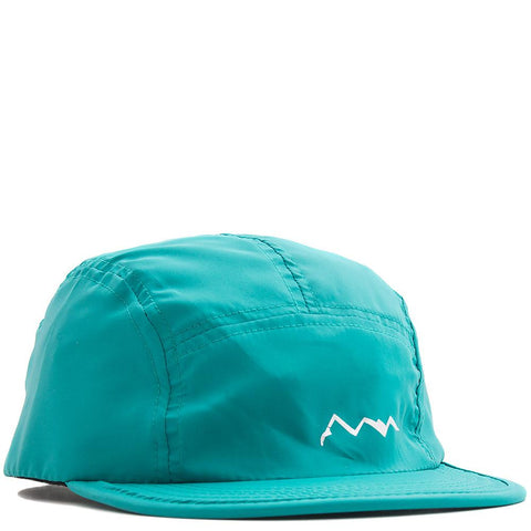 style code 7179087GRN. MANASTASH FLEX PACKABLE WATER RESISTANT CAP / GREEN
