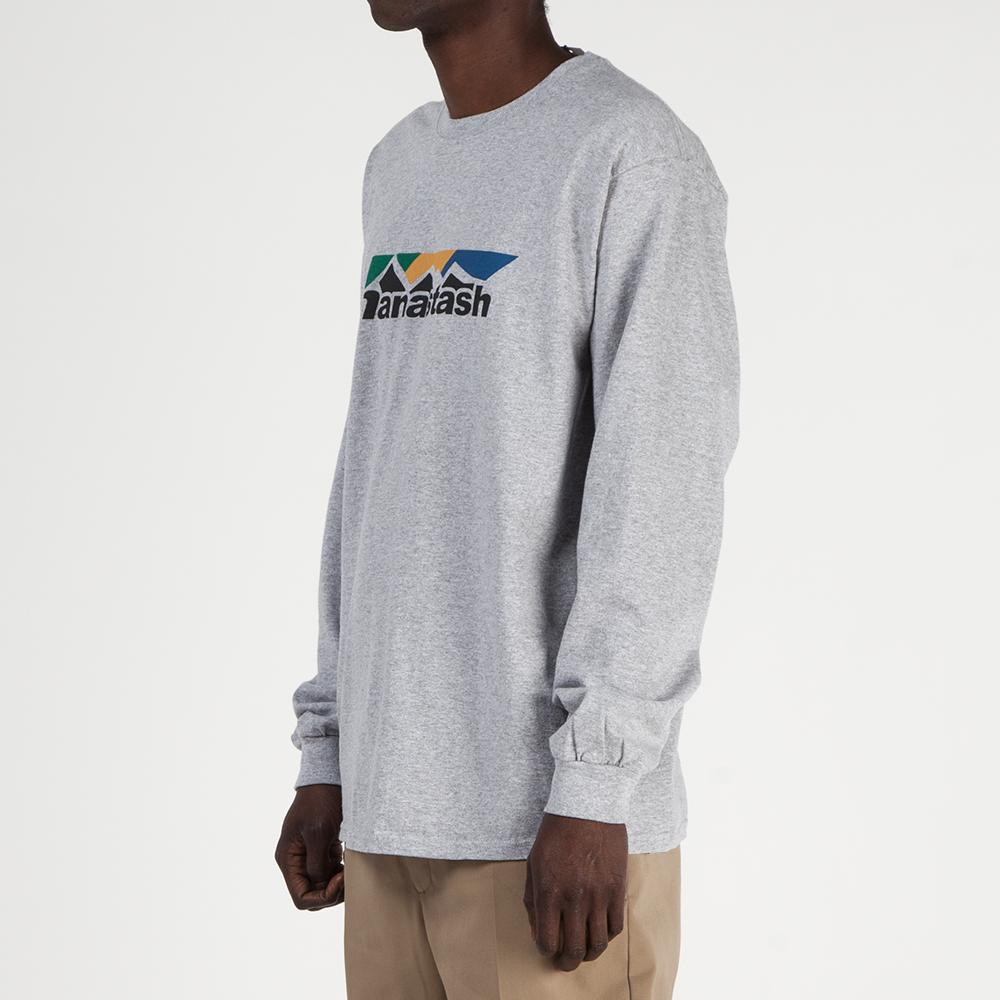 Manastash Scheme Logo Long Sleeve T-shirt / Grey