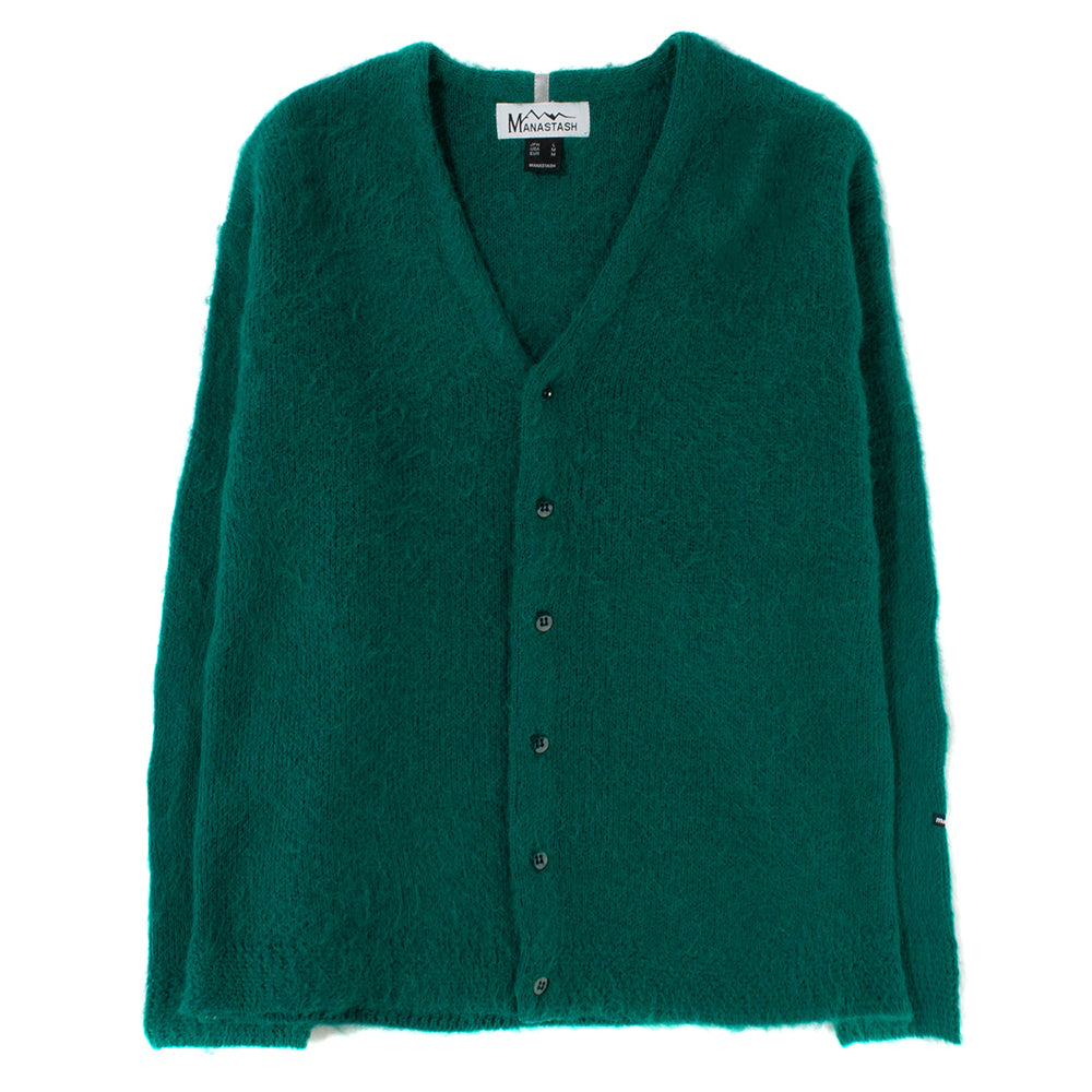 Manastash Aberdeen Kurtigan Sweater / Green - Deadstock.ca