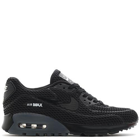 NIKE WOMEN'S AIR MAX 90 ULTRA BR / BLACK - 1