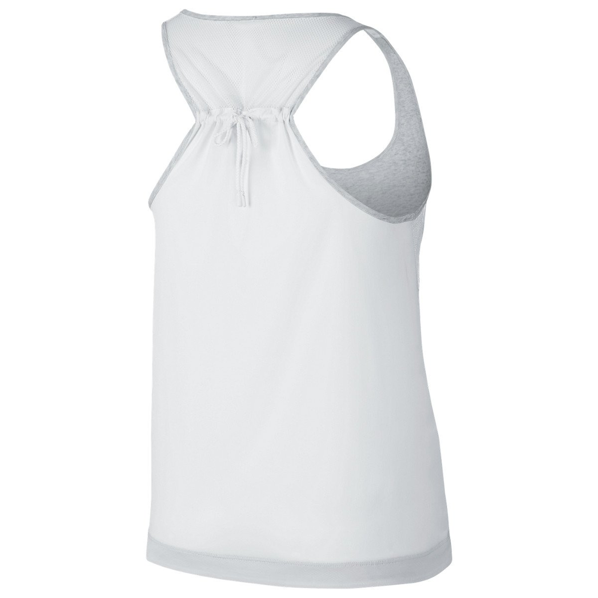 NIKE WOMEN'S BONDED TANK / BIRCH HEATHER - 2