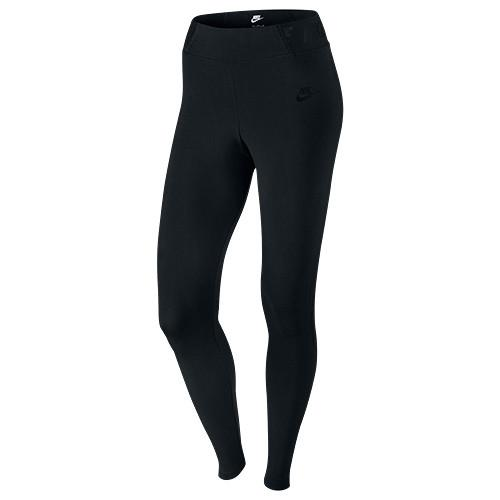 NIKE WOMEN'S BONDED MESH TIGHTS BLACK / BLACK - 1
