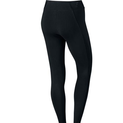 NIKE WOMEN'S BONDED MESH TIGHTS BLACK / BLACK - 2
