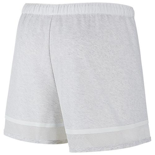 NIKE WOMEN'S BONDED SHORT / BIRCH HEATHER - 2