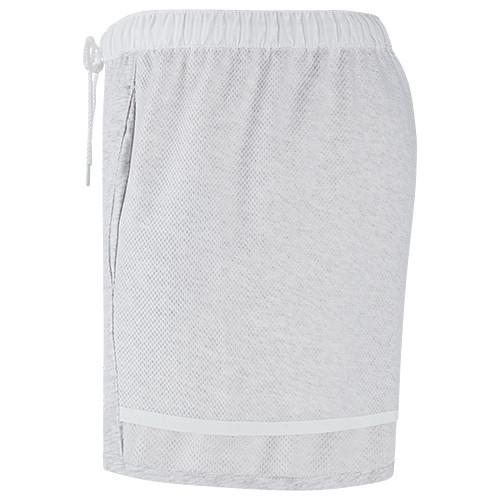 NIKE WOMEN'S BONDED SHORT / BIRCH HEATHER - 3