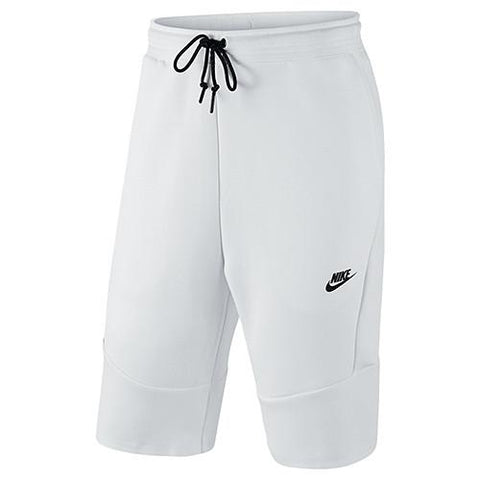 NIKE TECH FLEECE 2.0 SHORT / WHITE - 1