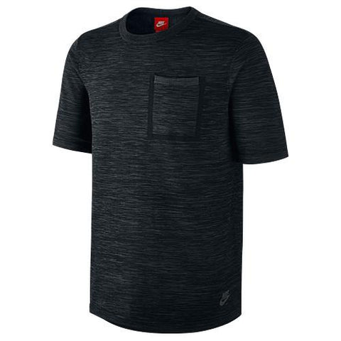 NIKE TECH KNIT POCKET T-SHIRT / BLACK - 1