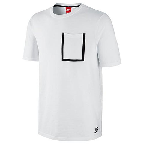 NIKE TECH KNIT POCKET T-SHIRT WHITE / WHITE - 1