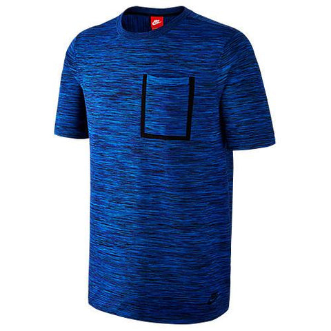 NIKE TECH KNIT POCKET T-SHIRT / HYPER COBALT - 1