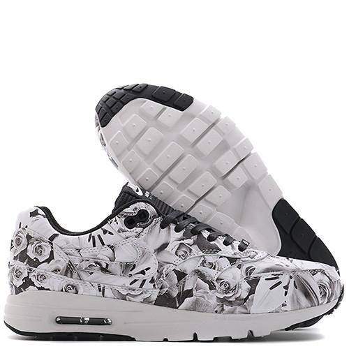 NIKE WOMEN'S AIR MAX 1 ULTRA LOTC FLORAL CITY PACK QS / BLACK - Deadstock.ca