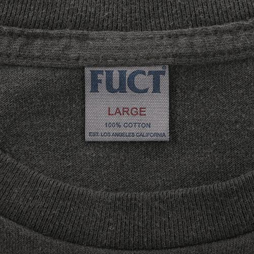 FUCT SSDD 2 PACK CREW NECK POCKET T-SHIRT / BLACK - 6