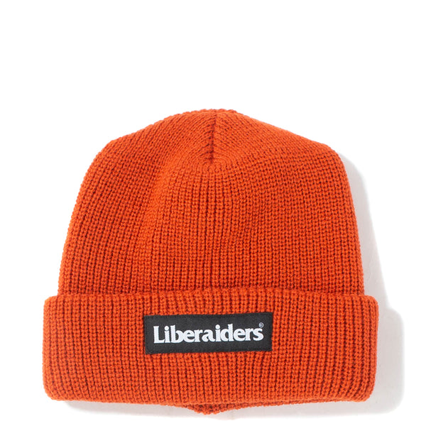 Liberaiders OG Logo Watch Cap / Orange - Deadstock.ca